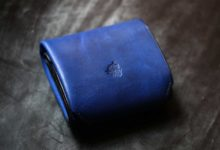 The Seaglass Wallet ブルー