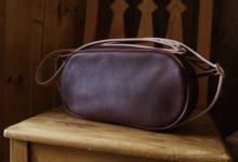The Oval Shoulder Bag ミネルバボックス ブラウン