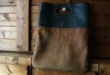 New York Clutch Bag アリゾナ×テンペスティクラックレザー
