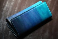 The Parallelworld Wallet ブルーグラデーション