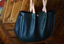The Luna Buffalo Bag エルバマットシボ グリーン