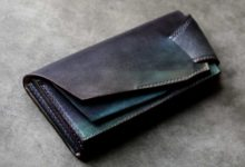 The Shark Orchestra Wallet ブラックブルー陰影