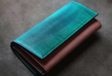 The Parallelworld Wallet ブルー×ナチュラル