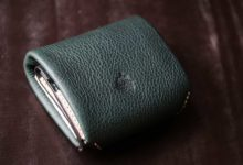The Seaglass Wallet エルバマットシボグリーン×オールドキャニオンホワイト