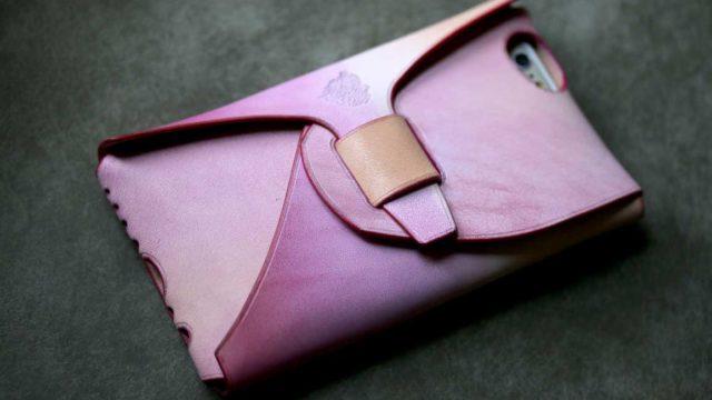 iPhone6S ピンクグラデーション