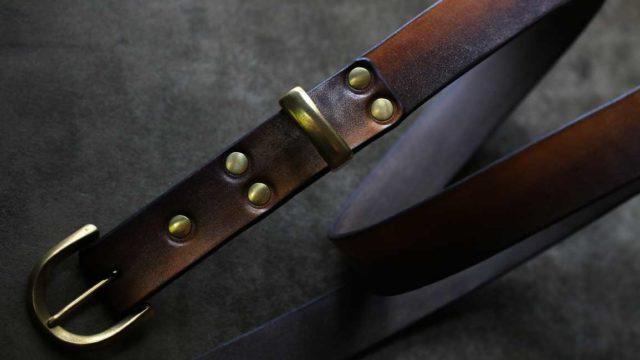 The Kiwami Belt ゴールド×ブラック
