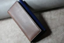 The Parallelworld Wallet  グレー×ブルー