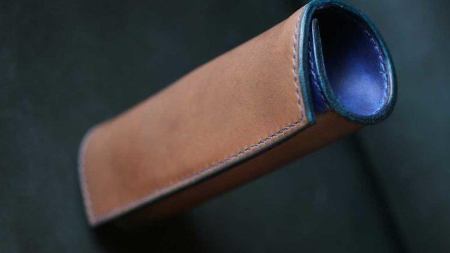 The Baton Pencilcase エルバマットグレー×ブルー