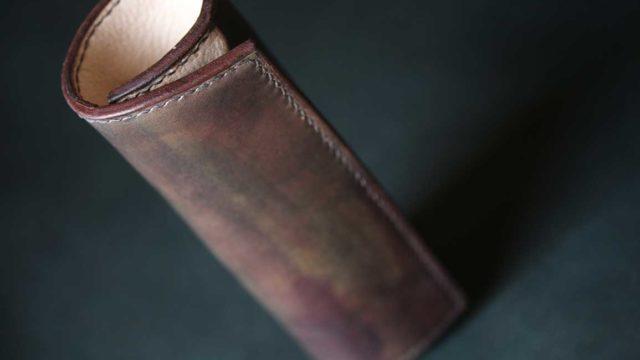 The Baton Pencilcase ブラウン×ホワイト