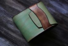 The Even Wallet ミント×ゴールド