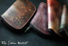 The Sirloin Wallet 光る染色