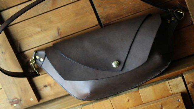 The Curve Shoulder Bag グレー