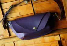 The Curve Shoulder Bag バイオレット