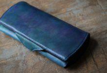 The Napoleon Wallet  トロピカルブルー