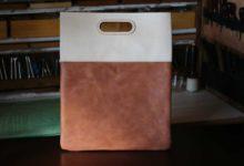 New York Clutch Bag オールドキャニオン×ブラウン