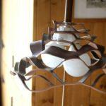 KURAGE Lamp Shade シルバーブルーレッド