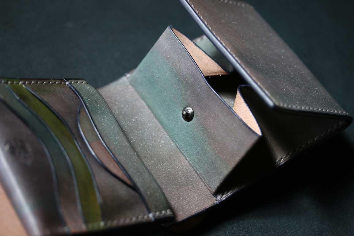 金銀折財布
