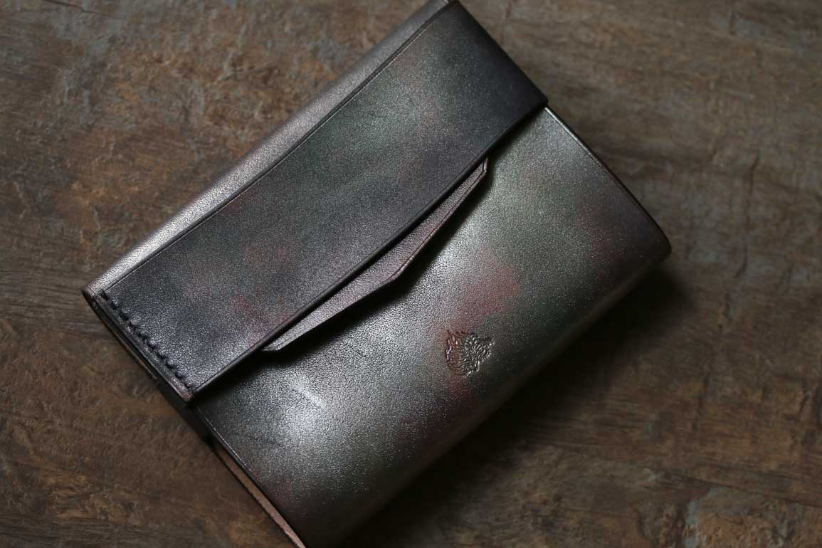 アンティーク鉄色ブックカバー