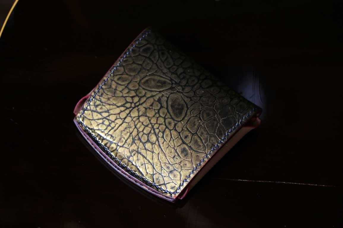 ゴールド財布
